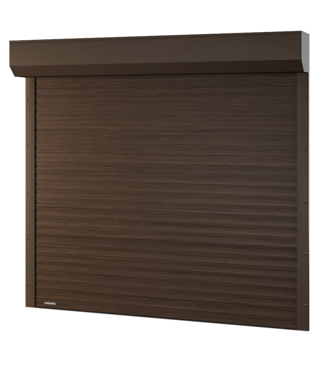 Porte de garage enroulable sur mesure lectrique somfy for Reglage porte de garage enroulable somfy