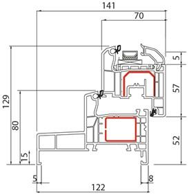 fen tre pvc alusplast ideal 4000 monobloc fen tre sur mesure en pvc. Black Bedroom Furniture Sets. Home Design Ideas