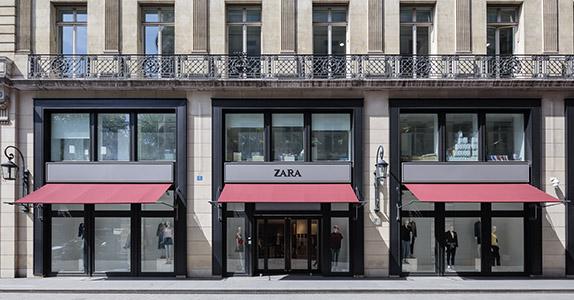 Magasins Paris - France
