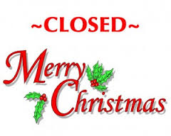 Christmas-Closed