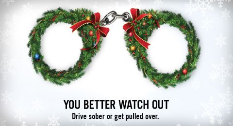 Holiday Drive Sober Campaign