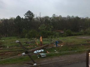 Crawford Tornado Damage