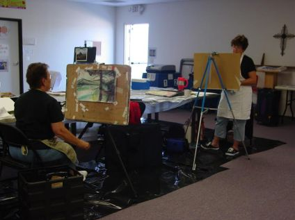 pastel workshop taught at az artist guild2