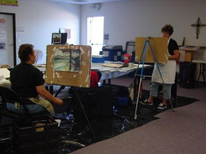 pastel workshop taught at az artist guild2
