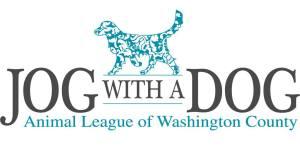 Jog with a Dog event logo