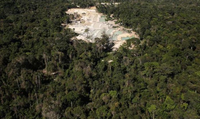 Desmatamento da Amazônia Junho
