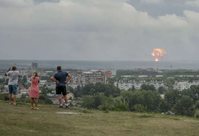 Explosão na Russia