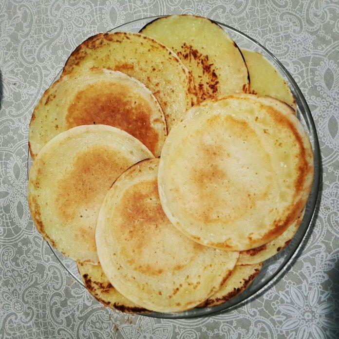 Pão de queijo de frigideira fitness