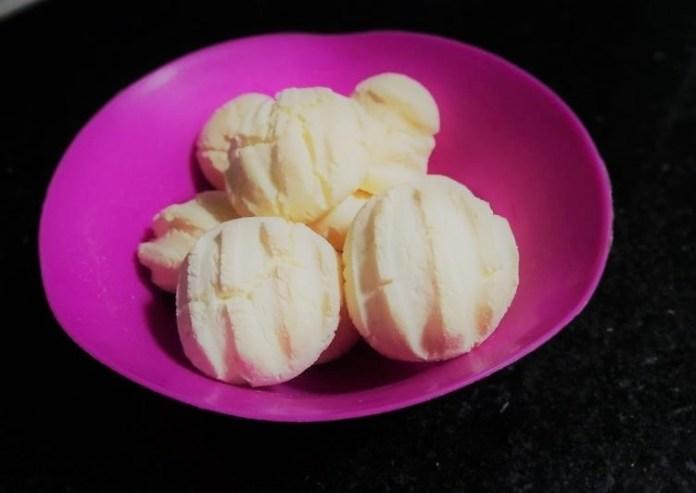 Biscoito de maisena e leite condensado