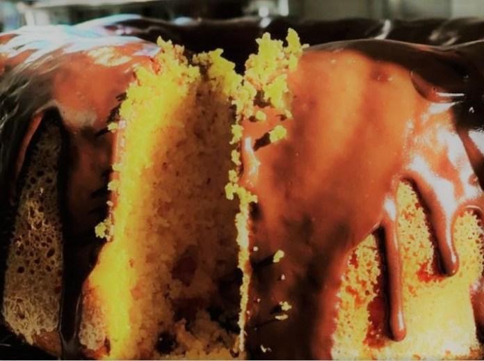 Receita de bolo de cenoura fofinho