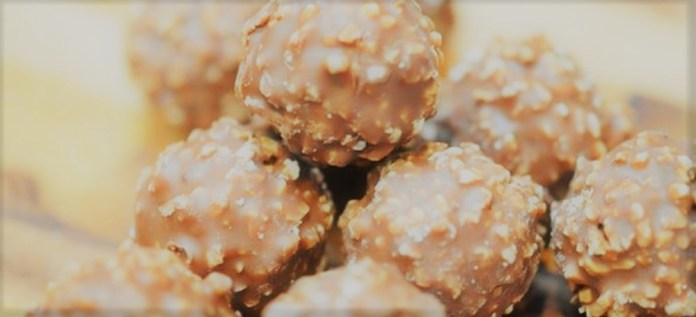 Bombom Ferrero Rocher Caseiro
