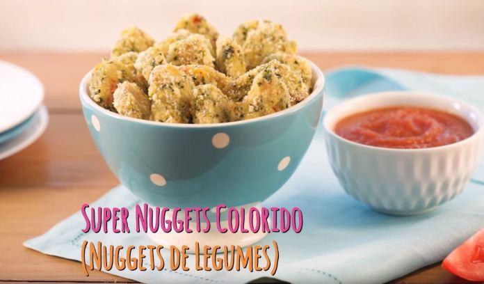 Nuggets de Legumes (Super Nuggets Colorido)