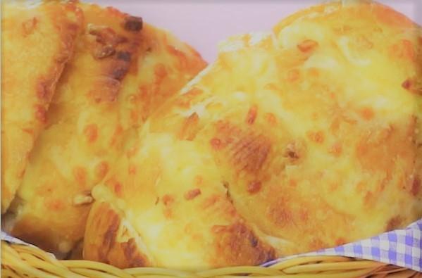 Pão de alho cremoso