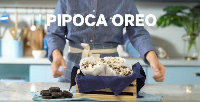 Pipoca Oreo