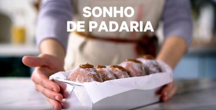 Sonho de Padaria delicioso