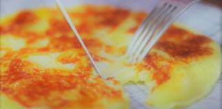 crepioca cremosa com queijo
