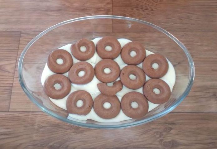 camada de biscoito