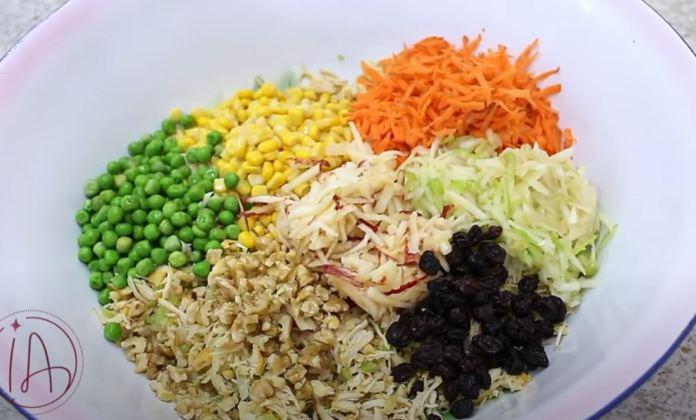 ingredientes do salpicão