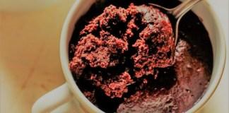 brownie de caneca