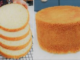 pão de ló profissional
