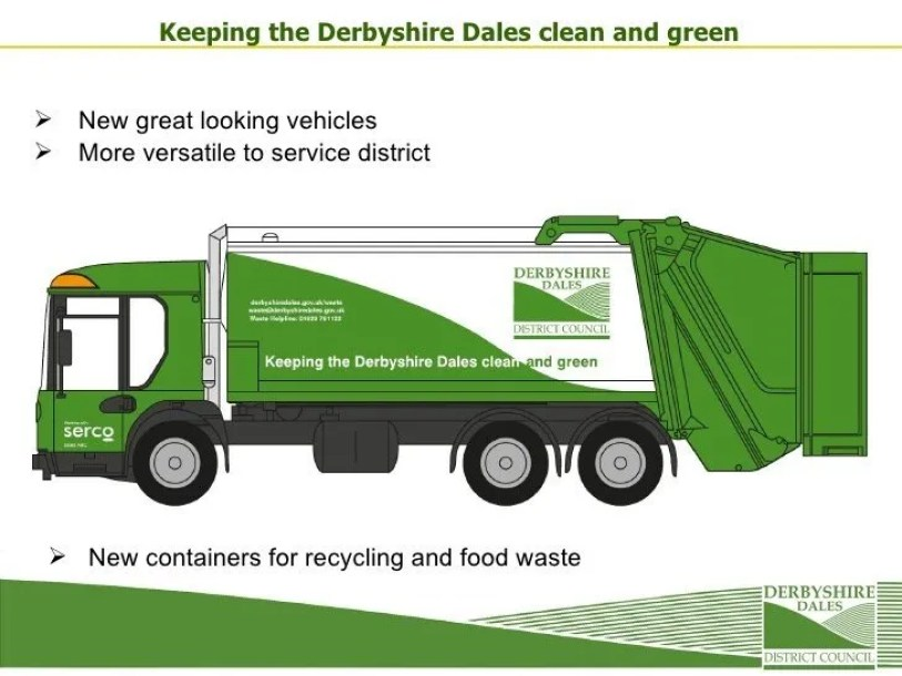 Derbyshire Dales council bail out Serco for the third time as the company fails to provide adequate refuse collection service.