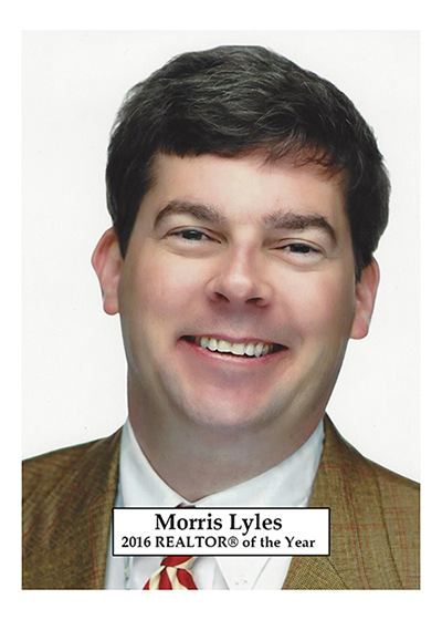 Morris Lyles is the 2016 REALTOR® of the Year