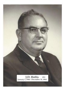1964 - JD Hollis