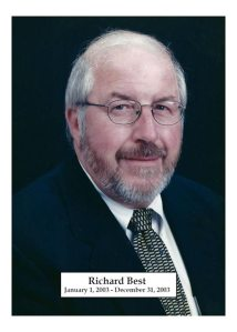 2003 - Richard Best