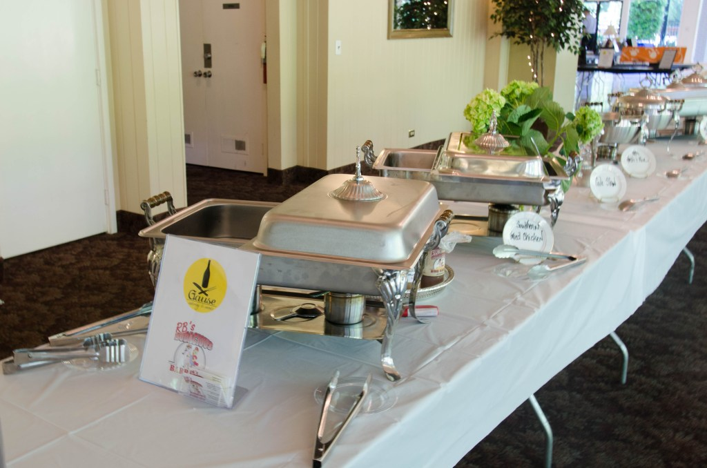 Photo of catering table at RPAC event