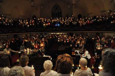 View from the Choir Loft