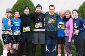 All Smiles - Before the Run. Running for Rachel's Home