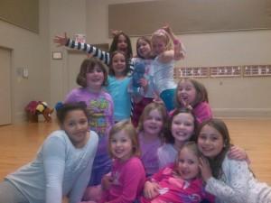 Kidventure Girls Midweek Group Spring 2013