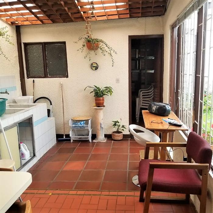 patio - venta casa en el barrio Malibú
