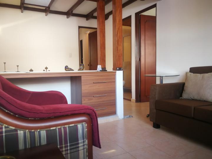 Venta hermosa casa en Villavicencio sala de estar