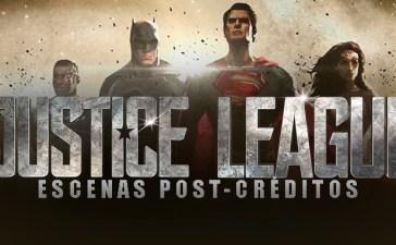 justice league escenas post-créditos