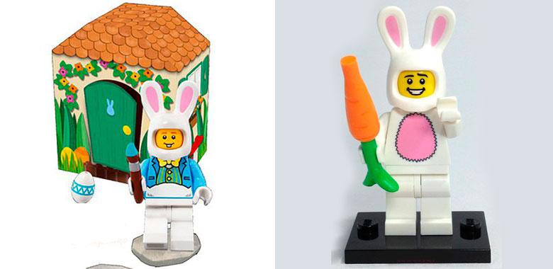 minifigura del conejo
