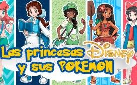 las princesas de disney con sus pokemon