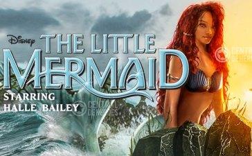 halle bailey little mermaid sirenita