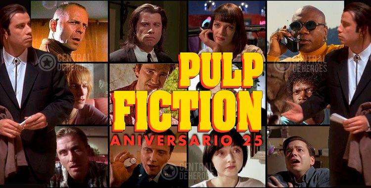 pulp fiction de tarantino , aniversario 25