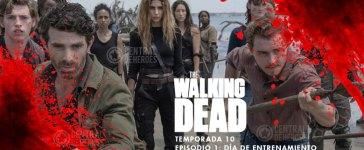 the walking dead 10x1 episodio 1 temporada 10, día de entrenamiento
