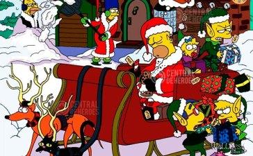 simpsons especiales navidad
