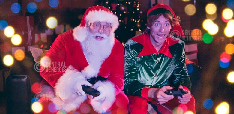 videojuegos de navidad