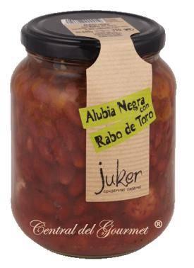 Alubia Negra con Rabo de Toro, Juker tarro 720gr