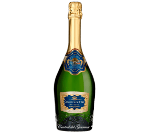 Brut Blanc de Noir Merite metodo tradicional , francés Charles de Fere, botella 75 cl