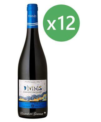 Divinis vino tinto Cabernet Sauvignon 2016 Caja