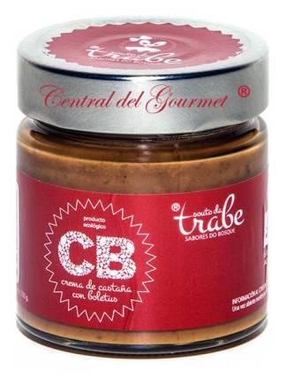 Crema Ecológica Gourmet de Castañas con Boletus