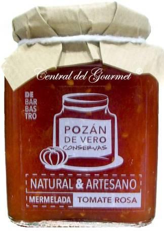 Mermelada de tomate Rosa de Basbastro, Pozan de Vero, tarro 300 gr