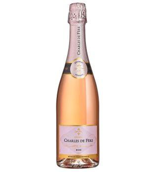 Reserva Rose Dry francés, Charles de Fere, botella 75cl