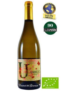 Vino Ecológico Gourmet Urbezo Chardonnay 2017