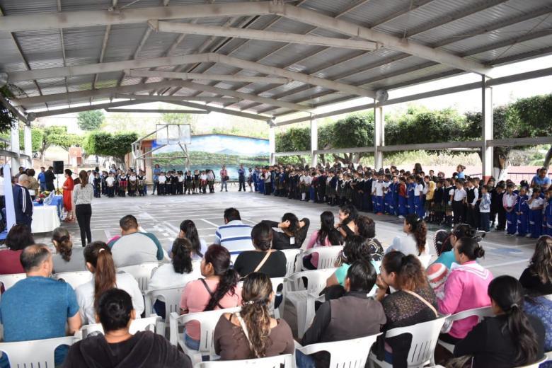 """IMPLEMENTAN PORGRAMA """"VIDA SALUDABLE"""" EN 30 ESCUELAS PRIMARIAS DE JIUTEPEC 03"""